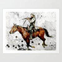 Western Outlaw Cullen Bo… Art Print
