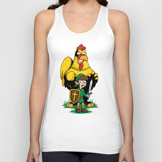 The Legend of Ernie (light background) Unisex Tank Top