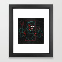 Hardware Framed Art Print