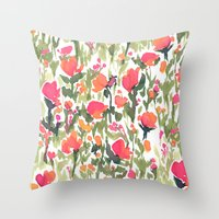 Heart's A Mess Throw Pillow