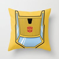 Transformers - Sunstreaker Throw Pillow