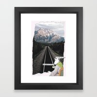 They Said No Framed Art Print