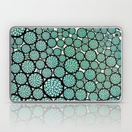 Laptop & iPad Skin featuring Blooming Trees by Pom Graphic Design