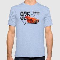 Porsche 935 K3 Jagermeis… Mens Fitted Tee Tri-Blue SMALL