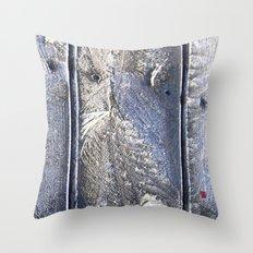 Frost Owl Throw Pillow