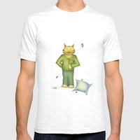 You Are The Cat's Pajama… Mens Fitted Tee White SMALL