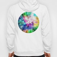 Colorful Tie Dye Abstract Hoody