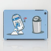 Robot Crush iPad Case