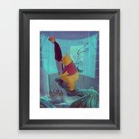 Secret Agent Calvin Hobb… Framed Art Print