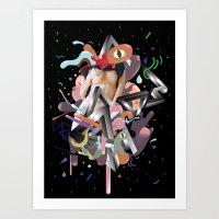 Galactico Art Print