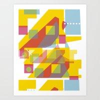 Slurp Ramp Art Print