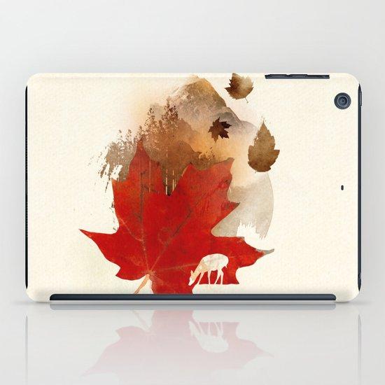 Autmn is coming iPad Case