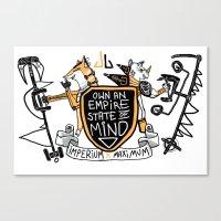 Imperial Mindset Canvas Print