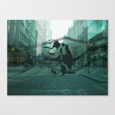 London Beware Canvas Print