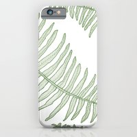iPhone & iPod Case featuring fern no.1 by Bonnie Durham