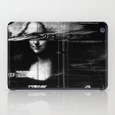 Mona Lisa Glitch iPad Case
