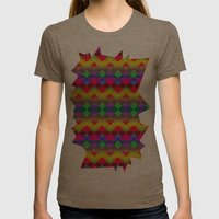 Party Womens Fitted Tee Tri-Coffee SMALL