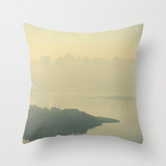 Powai Lake Throw Pillow