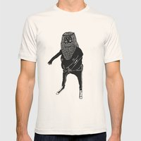 Muerto Viviente Mens Fitted Tee Natural SMALL