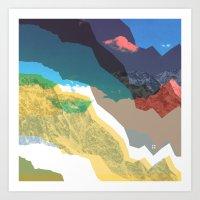 Experiment Am Berg 32 Art Print