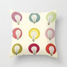Bright Ideas Throw Pillow