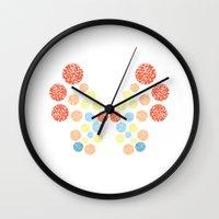 Vivillon Ocean Form Wall Clock