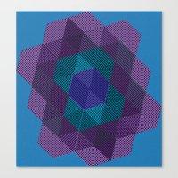 Tiling III Canvas Print