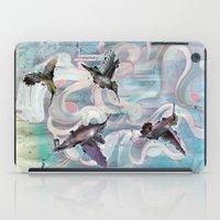 Hummingbirds iPad Case