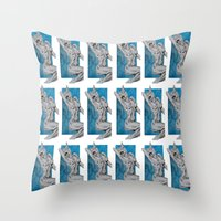 Kitties & Titties No.1 M… Throw Pillow