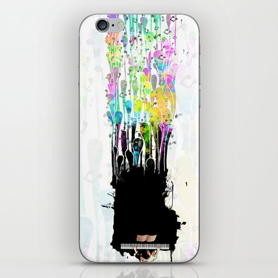 My piano iPhone & iPod Skin