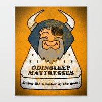 Odin - Odinsleep Mattresses Canvas Print