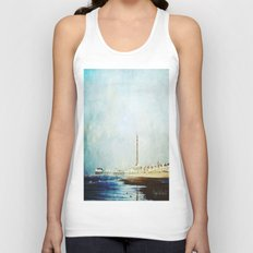 On The Front Textured Fine Art Photograpy Unisex Tank Top