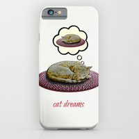 Cat Dreams iPhone 6 Slim Case