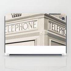 London telephone booth iPad Case
