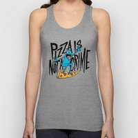 Pizza Is Not A Crime Unisex Tank Top