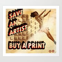 Shameless Self Promotion… Art Print