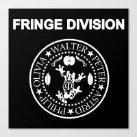 Fringe Division I wanna be sedated Canvas Print