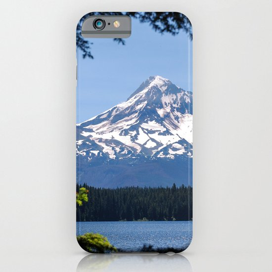 Mount Hood from Lost Lake iPhone & iPod Case