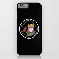iPhone Cases featuring Archer Queen by chiams