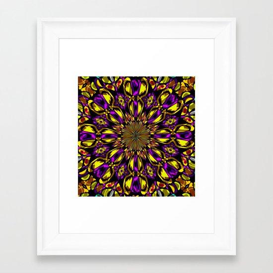 Color Fantasy N1  Framed Art Print