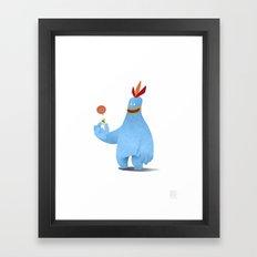Chirpy Chick Framed Art Print