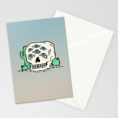 DIE IN THE DESERT Stationery Cards