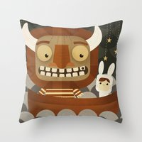 Where The Wild Things Ar… Throw Pillow