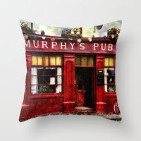 Murphys Pub, Dingle Throw Pillow