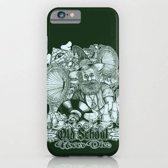 Old School Never Dies iPhone & iPod Case