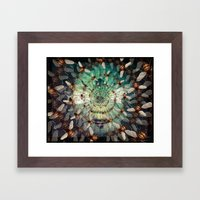 Bees: Masters of Time and Space Framed Art Print