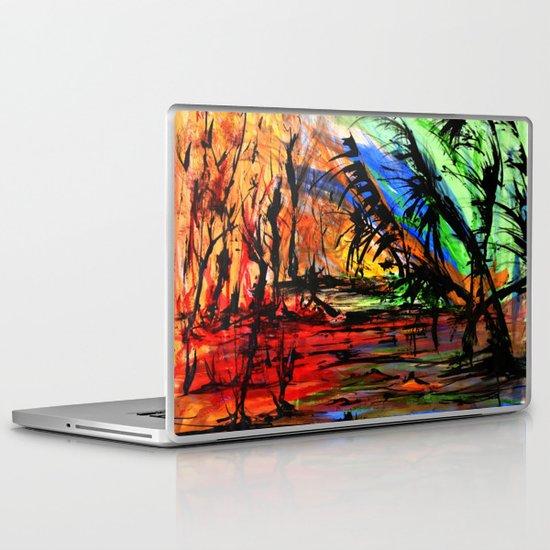 Fire & Flood Laptop & iPad Skin