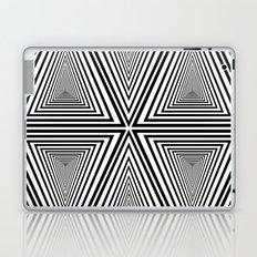 black and white 2 Laptop & iPad Skin