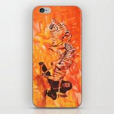 Roaring Tiger Broadsword iPhone & iPod Skin