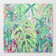 Bermuda Palms Canvas Print